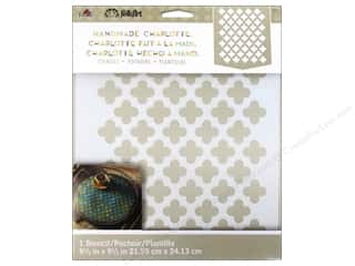 Craft & Hobbies Stencils: Plaid Stencil Folkart Charlotte Moorish Pattern