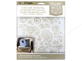 Craft & Hobbies Stencils: Plaid Stencil Folkart Charlotte Paisley Delight