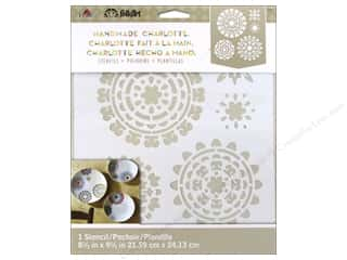 Weekly Specials Scrapbooking Kits: Plaid Stencil Folkart Charlotte Suzani Splendar