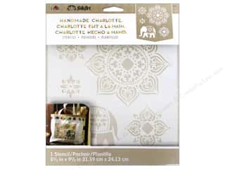 Weekly Specials Paper Accents: Plaid Stencil Folkart Charlotte Tangier