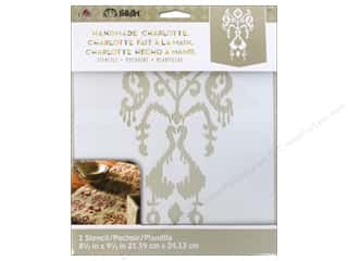 Craft & Hobbies Stencils: Plaid Stencil Folkart Charlotte Ikat