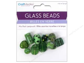 Multicraft Beads Glass Lampwork Jade 1.05oz