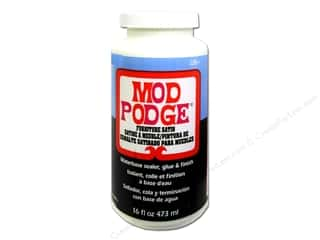 Paper Pieces Glue and Adhesives: Plaid Mod Podge Furniture Satin 16oz
