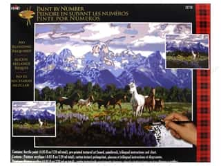 "Projects & Kits $16 - $164: Plaid Paint By Number 16""x 20"" Morning Fresh"