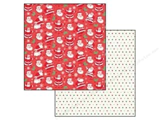 Christmas Echo Park 12 x 12 in. Paper: Echo Park 12 x 12 in. Paper Christmas Cheer Collection HO HO HO (25 pieces)