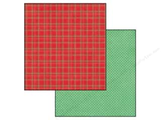 Christmas Echo Park 12 x 12 in. Paper: Echo Park 12 x 12 in. Paper Christmas Cheer Collection Holiday Plaid (25 pieces)