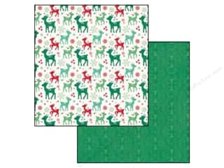 Echo Park Paper Company: Echo Park 12 x 12 in. Paper Christmas Cheer Collection Rudolph (25 pieces)