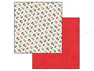 Echo Park Paper Company: Echo Park 12 x 12 in. Paper Christmas Cheer Collection Snow Globes (25 pieces)