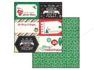 Christmas $4 - $6: Echo Park 12 x 12 in. Paper Christmas Cheer Collection 4 x 6 in. Journaling Cards (25 pieces)