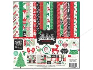 Echo Park Paper Company Alphabet Stickers: Echo Park 12 x 12 in. Christmas Cheer Collection Kit