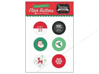 2013 Crafties - Best Adhesive: Echo Park Christmas Cheer Flair Button