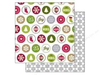 Holiday Sale Designer Papers & Cardstock: Echo Park 12 x 12 in. Paper Home For The Holidays Collection Merry Icons (25 sheets)