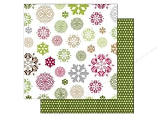 Holiday Sale Designer Papers & Cardstock: Echo Park 12 x 12 in. Paper Home For The Holidays Collection Snowflakes (25 sheets)