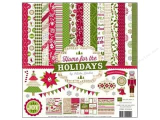 Echo Park Paper Company Alphabet Stickers: Echo Park 12 x 12 in. Home For The Holidays Collection Kit