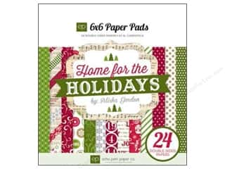 Echo Park Paper Pad 6 x 6 in. Home For The Holidays