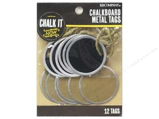 K&Co Chalk It Now Chalkboard Tags Metal