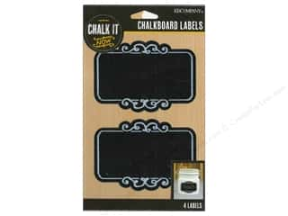 Borders New: K&Company Chalk It Now Chalkboard Labels Frame