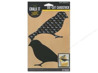 K&Co Chalk It Now Bird Pattern