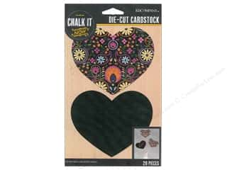 K&Co Chalk It Now Heart Pattern