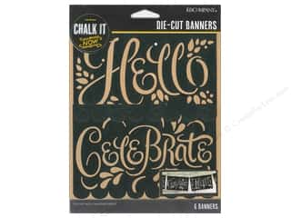 K&Co Chalk It Now Banner Hello Celebrate