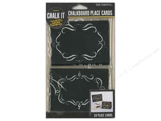 Borders $3 - $5: K&Company Chalk It Now Chalkboard Place Cards Ornate