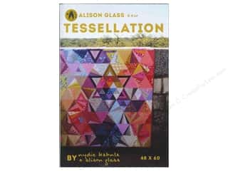 Glasses inches: Alison Glass Design Tessellation Pattern