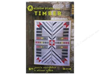 Glasses inches: Alison Glass Design Timber Pattern