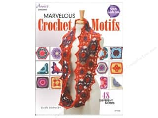 Yarn, Knitting, Crochet & Plastic Canvas Annie's Attic: Annie's Marvelous Crochet Motifs Book by Ellen Gormley
