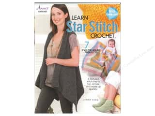 Annies Attic $4 - $5: Annie's Learn Star Stitch Crochet Bookby Jenny King