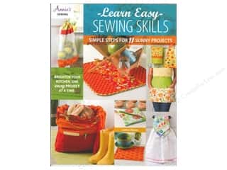 Annies Attic $4 - $5: Annie's Learn Easy Sewing Skills Book by Lorine Mason