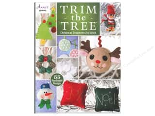 Sewing Construction Annie's Attic: Annie's Trim The Tree: Christmas Ornaments To Stitch Book