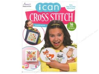 Stitchery, Embroidery, Cross Stitch & Needlepoint Books & Patterns: Annie's I Can Cross-Stitch Book by Elizabeth Spurlock