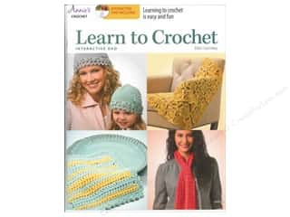 CD Rom Baby: Annie's Learn to Crochet Book with Interactive DVD by Ellen Gormley