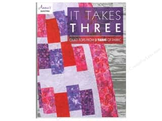 Annies Attic 8 1/2 in: Annie's It Takes Three Book