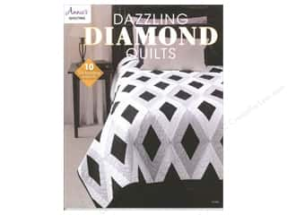 Annies Attic 8 1/2 in: Annie's Dazzling Diamond Quilts Book