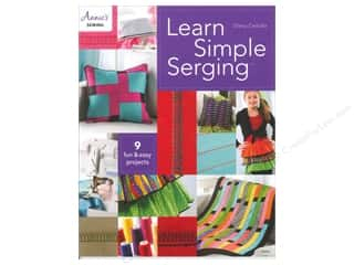 Annies Attic $8 - $9: Annie's Learn Simple Serging Book by Diana Cedolia