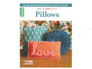 Patterns New: Leisure Arts Best Of SewNews Pillows Book