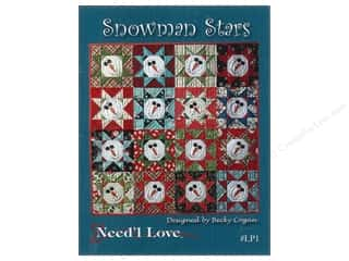 Stars Patterns: Need'l Love Company Snowman Stars Pattern
