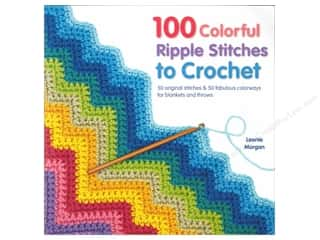 100 Colorful Ripple Stitches To Crochet Book