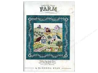 "Books & Patterns 12"": Pine Needles And On That Farm With a Big Quilt Here and a Small Quilt There Pattern"