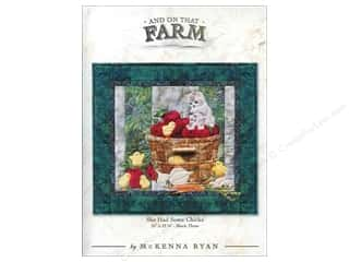Farms Patterns: Pine Needles And On That Farm She Had Some Chicks Pattern