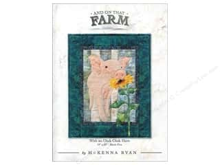 And On That Farm With An Oink Oink Here Pattern