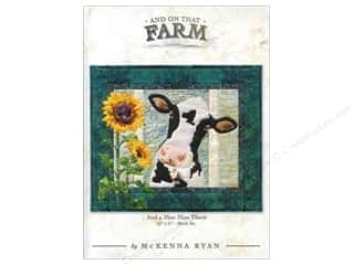 Pine Needles Crafting Kits: Pine Needles And On That Farm and a Moo Moo There Pattern