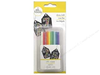 Sale Drawing: EK Chalk Refill Skinny Primary 10pc