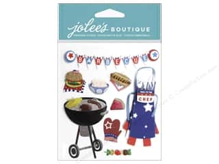 Jolee's Boutique Stickers Barbecue