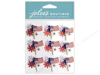 Jolee's Boutique Stickers American Flag Repeats