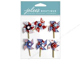 EK Success Americana: EK Jolee's Boutique Patriotic Pinwheels
