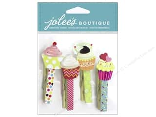 Home Decor Birthdays: EK Jolee's Boutique Embellishment Clips Cupcake