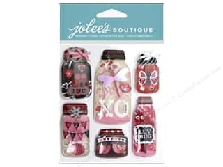 Gifts paper dimensions: EK Jolee's Boutique Mason Jars Lovebug