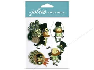 EK Success Saint Patrick's Day: Jolee's Boutique Stickers Leprechauns